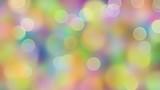 Dromerig bokeh in frisse kleuren - 180336399