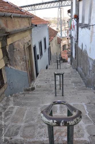 Fotobehang Smalle straatjes Rue