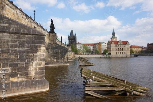Deurstickers Praag Prague