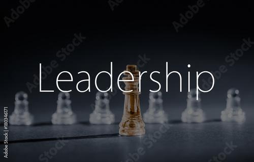 Plakat Chess business concept.