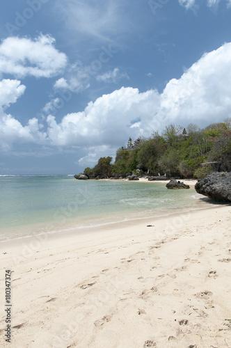Fotobehang Tropical strand Wybrzeże Bali
