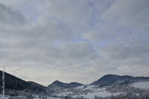 Fotobehang Donkergrijs Slovakia - Terchova