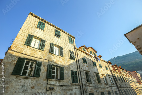 Residential architecture in Dubrovnik
