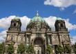 dome of the cathedral  in Baroque style  in Berlin in Germany