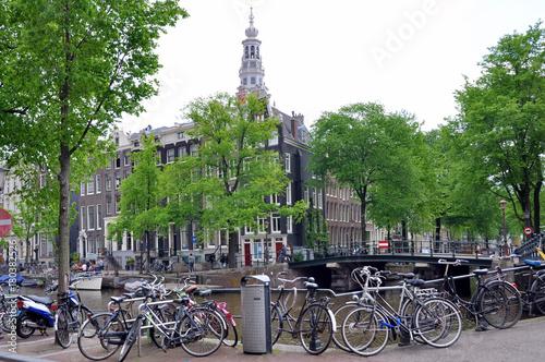 Fotobehang Amsterdam Amsterdam Street Scene