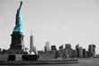Liberty watching Manhattan