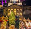 Christmas market near Deutscher Dom in Berlin, Germany