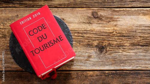 Sticker Code du tourisme 2018