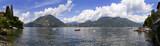 Lago di Como a Varenna Lombardia Italia Europa Como Lake Italy - 180428742