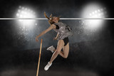 Competition pole vault jumper female - 180433114