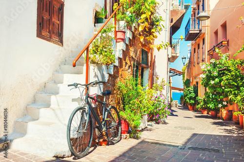 ulica-w-chania,-crete,-grecja