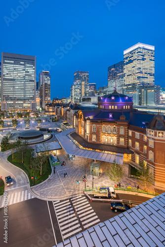 Fotobehang Tokio Tokyo Station