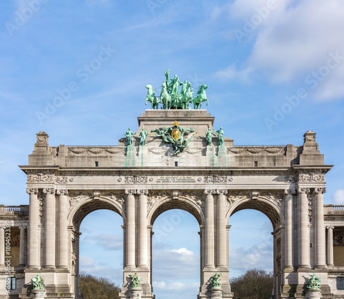 Foto op Canvas Brussel Brussels Triumphal Arch