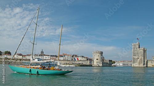 Keuken foto achterwand Schip Tours de La Rochelle