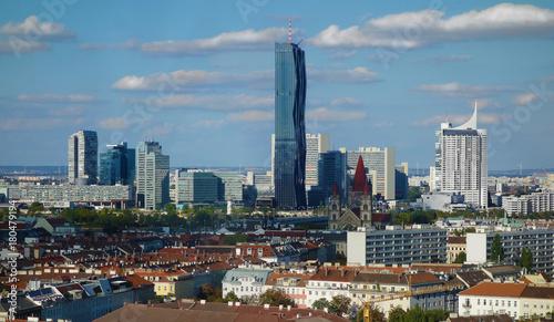 Foto op Plexiglas Wenen Vienna Austria skyline