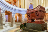The tomb of Napoleon Bonaparte.The St. Louis Cathedral Invalides. Paris, France - 180483554