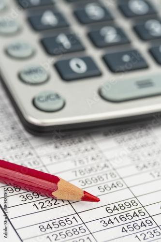 calculator and statistics - 180484907