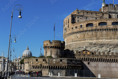 Staande foto Rome italy, rome, castel sant'angelo
