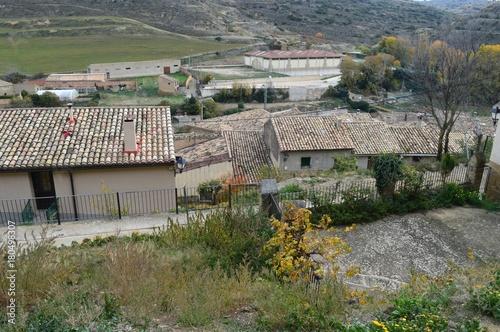 Foto op Plexiglas Khaki Pueblos de Aragon Spain Uncastillo