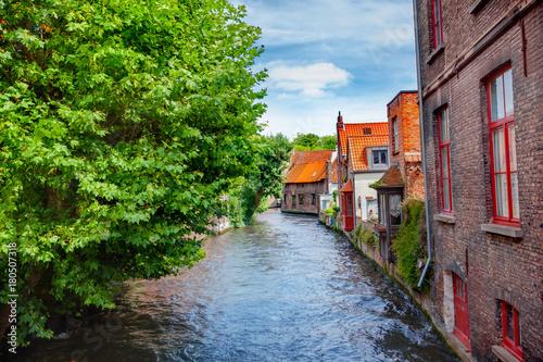 Papiers peints Bruges Canals of Brugge, Belgium