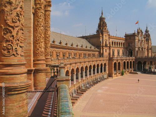 Sevilla, ciudad historica de Andalucia,España