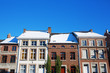 old buildings in the picturesque small city Limbourg, Belgium - 180519105