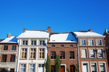 old buildings in the picturesque small city Limbourg, Belgium