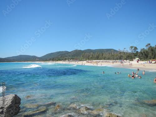 Fotobehang Tropical strand Sardegna
