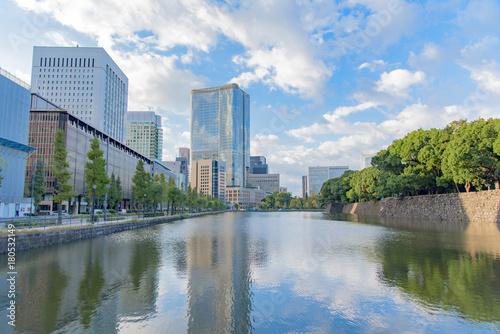 Fotobehang Tokio 有楽町 日比谷 朝の風景