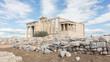 Erechtheion at the Acropolis in Athens - Greece