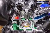 Engine cross section - 180542583