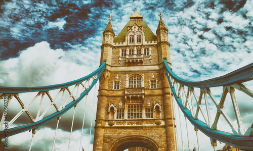 Plakat The Tower Bridge - London