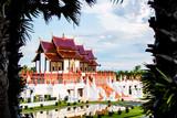 Horkamluang w królewskim kwiecistym, chiangmai Tajlandia