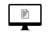 PC - Dokument mit Text - 180588770