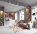modern apartment interior - 180600373