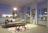 modern apartment interior - 180600390
