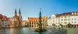 Leinwanddruck Bild - Braunschweig, Altstadtmarkt