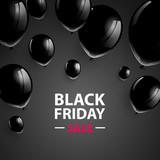 Vector Illustration of a Black Friday Sale Poster