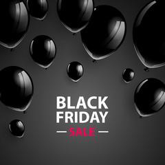 Vector Illustration of a Black Friday Sale Poster