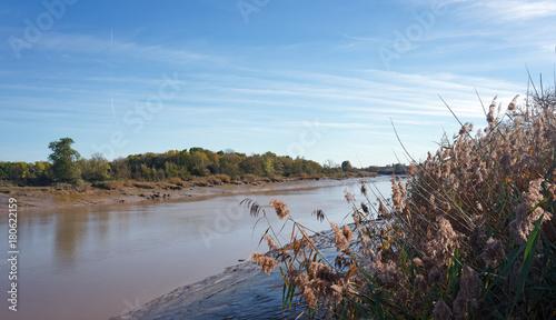 Papiers peints Cappuccino Charente river banks