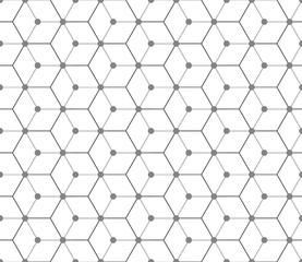Hexagonal seamless vector pattern