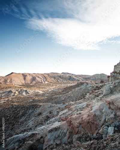 Foto op Canvas Grijs Red Rock View