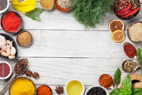 Various spices and herbs - 180626753