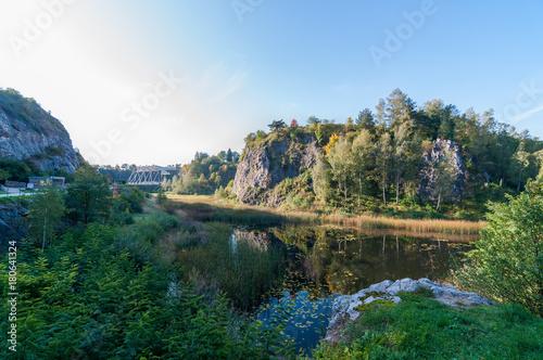 Rezerwat przyrodniczy kadzielnia, Kielce, Polska