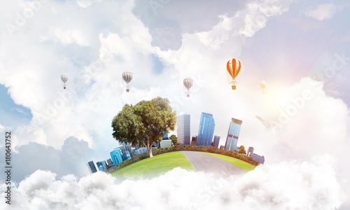 Obraz na płótnie Concept of eco friendly life.