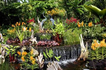 Nationaler Orchideen-Garten Singapur