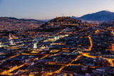 View of the colonial Quito - 180656326