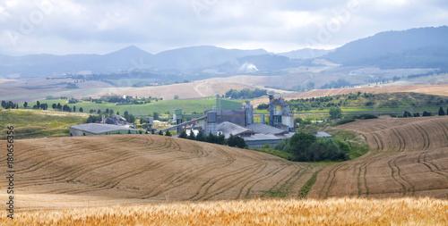 Fotobehang Toscane Tuscany landscape, Chianti region, Italy