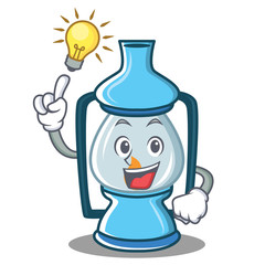 Have an idea lantern character cartoon style