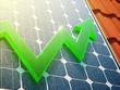 Leinwanddruck Bild - Solar Power Up